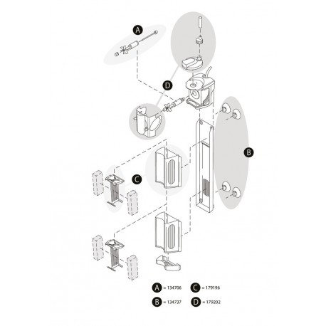 Tetra Internal Filter IN 300 Plus Spare Part Kit