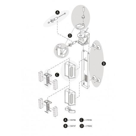 Tetra AquaArt LED 20/30L Abdeckung anthrazit