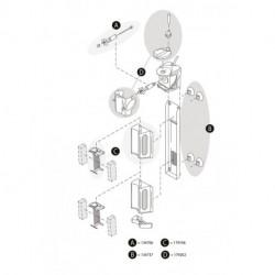 Tetra AquaArt LED 60L Abdeckung weiß