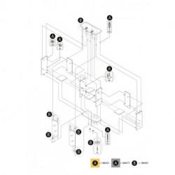 Tetra AquaArt LED 20/30L Abdeckung weiß