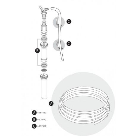 Tetra Bodenreiniger GC 30/40/50 Clip Set