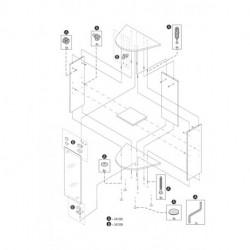 Tetra AquaArt Expl.Line Assembling set Stands 30/60L