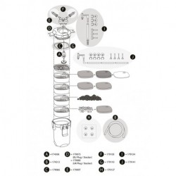 Tetra EX 2400 Ersatzteil-Set Einlass