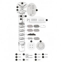 AquaArt LED 100/130L Abdeckung