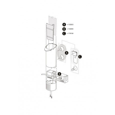 Tetra EasyCrystal Filter 250/ReptoDecoFilter 300 Impeller