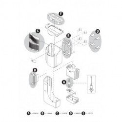 EasyCrystal FilterBox 300 Spare part kit